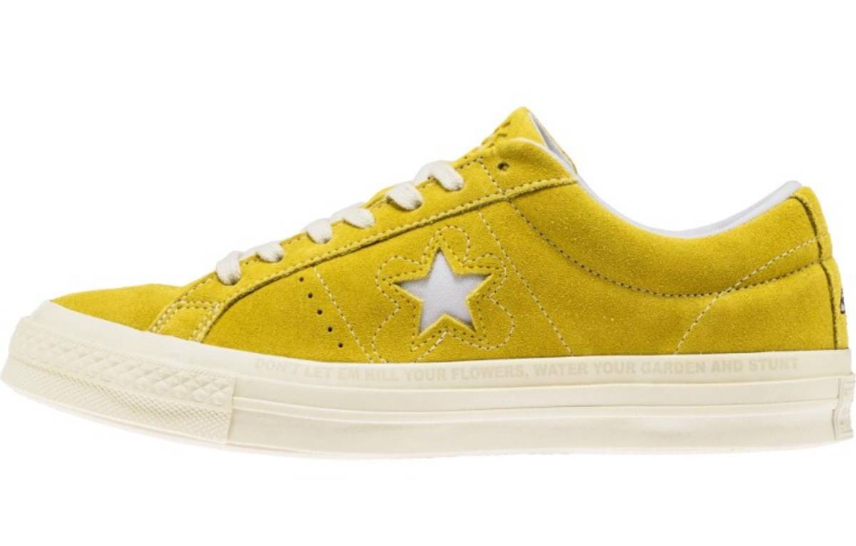 cortina Detectable Falsedad  Converse Converse One Star Tyler The Creator Golf Le Fleur Yellow | Grailed