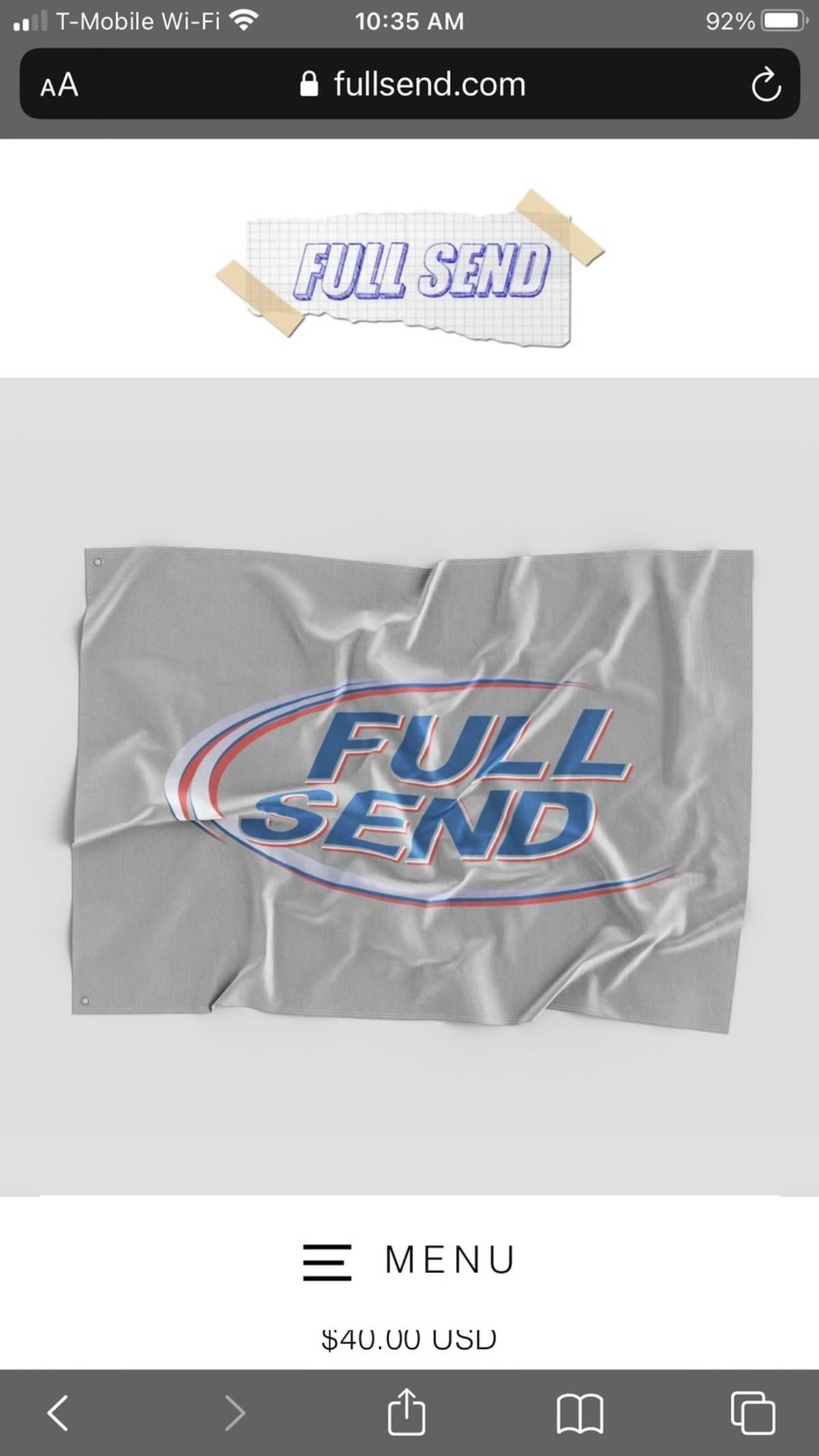 Full Send By Nelk Boys Fullsend Bud Light Flag Grailed Budweiser bud king of beers red basebal hat. full send by nelk boys full send bud light flag size one size 43