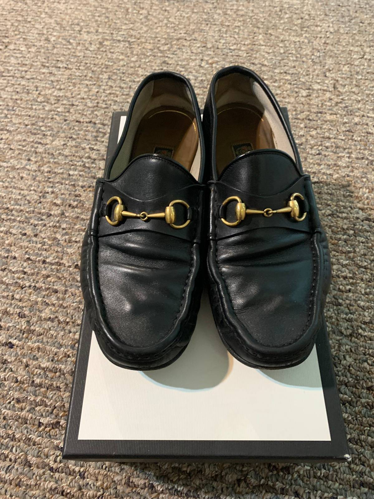 gucci gucci horsebit shoes sz 10 grailed
