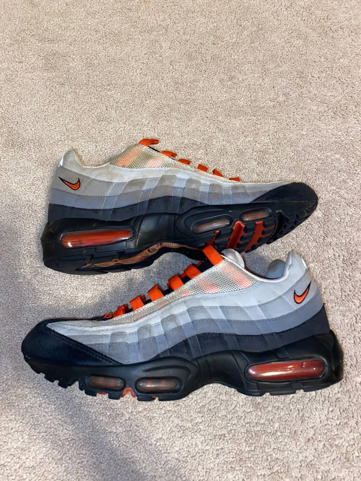 Nike Nike Air Max 95 Team Orange Men's Us 9.5 Size 9.5 $38