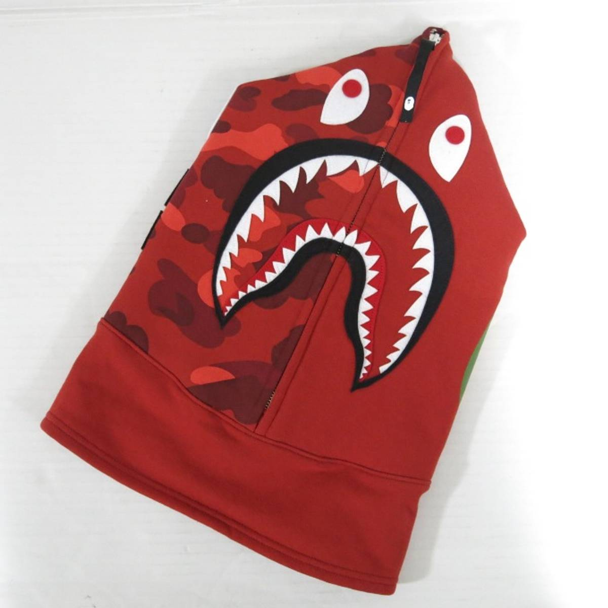 US 100/% authentic A Bathing Ape Bape ABC Camo Shark Face Mask