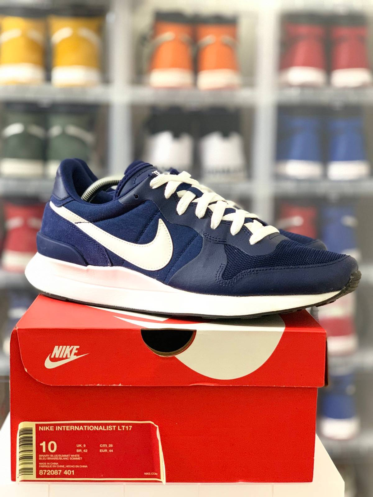 deberes Al por menor Tarjeta postal  Nike Nike Internationalist Lt17 Navy Blue (2017) | Grailed