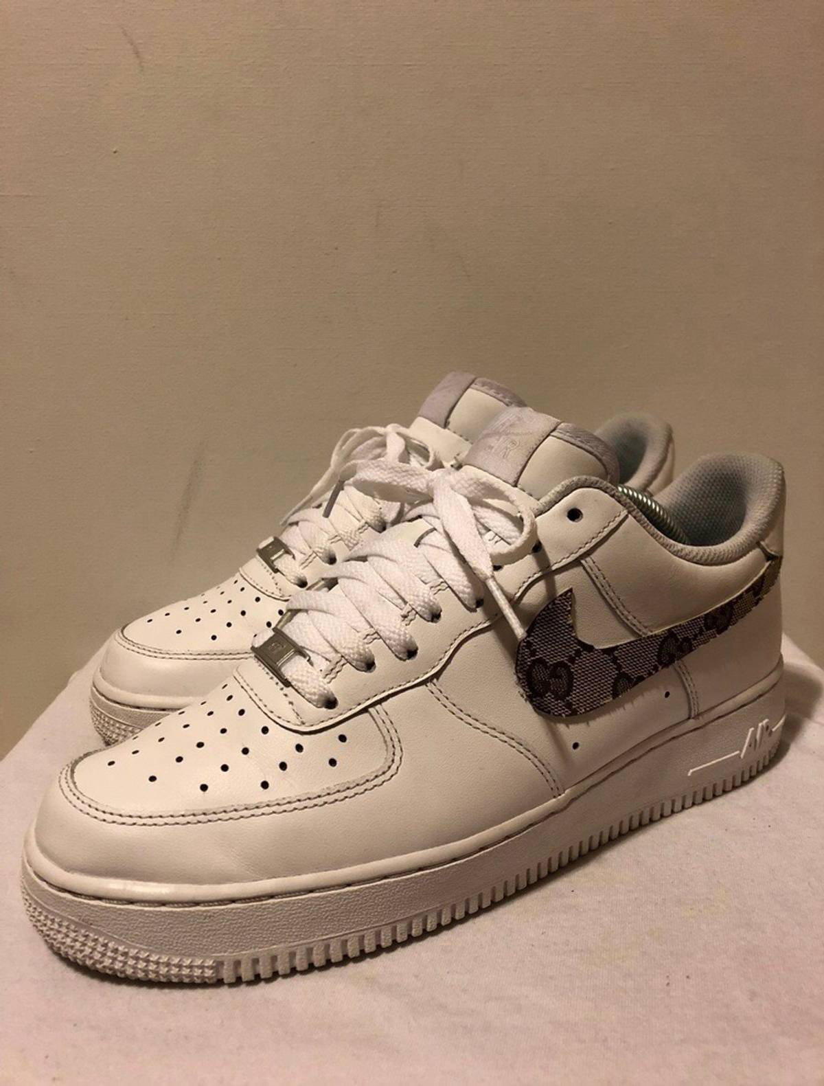 Nike Nike Air Force 1 Gucci Custom Grailed