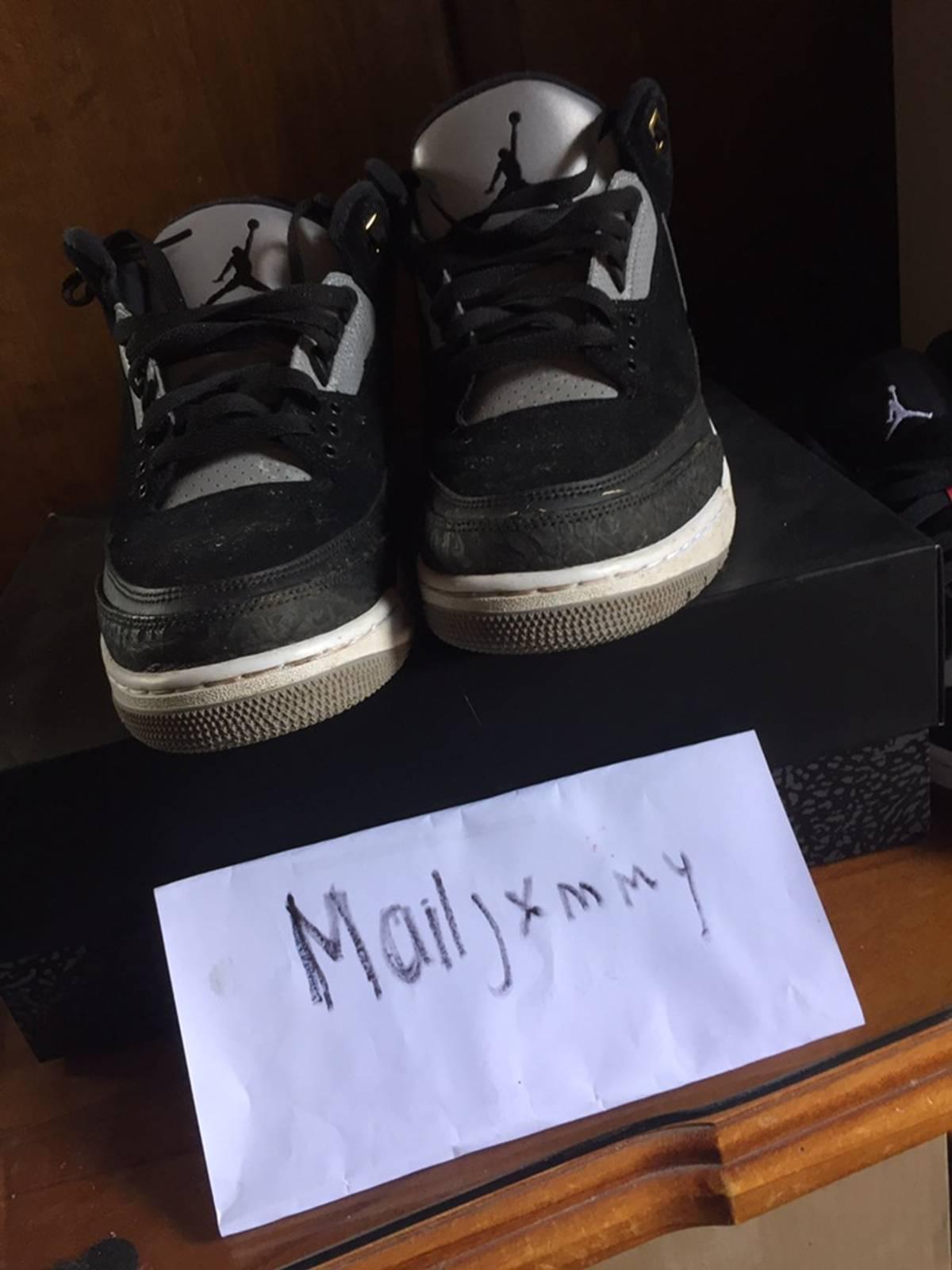 Jordan Brand × Nike Air Jordan 3 Retro Tinker Sp Black Cement Size 11 $101