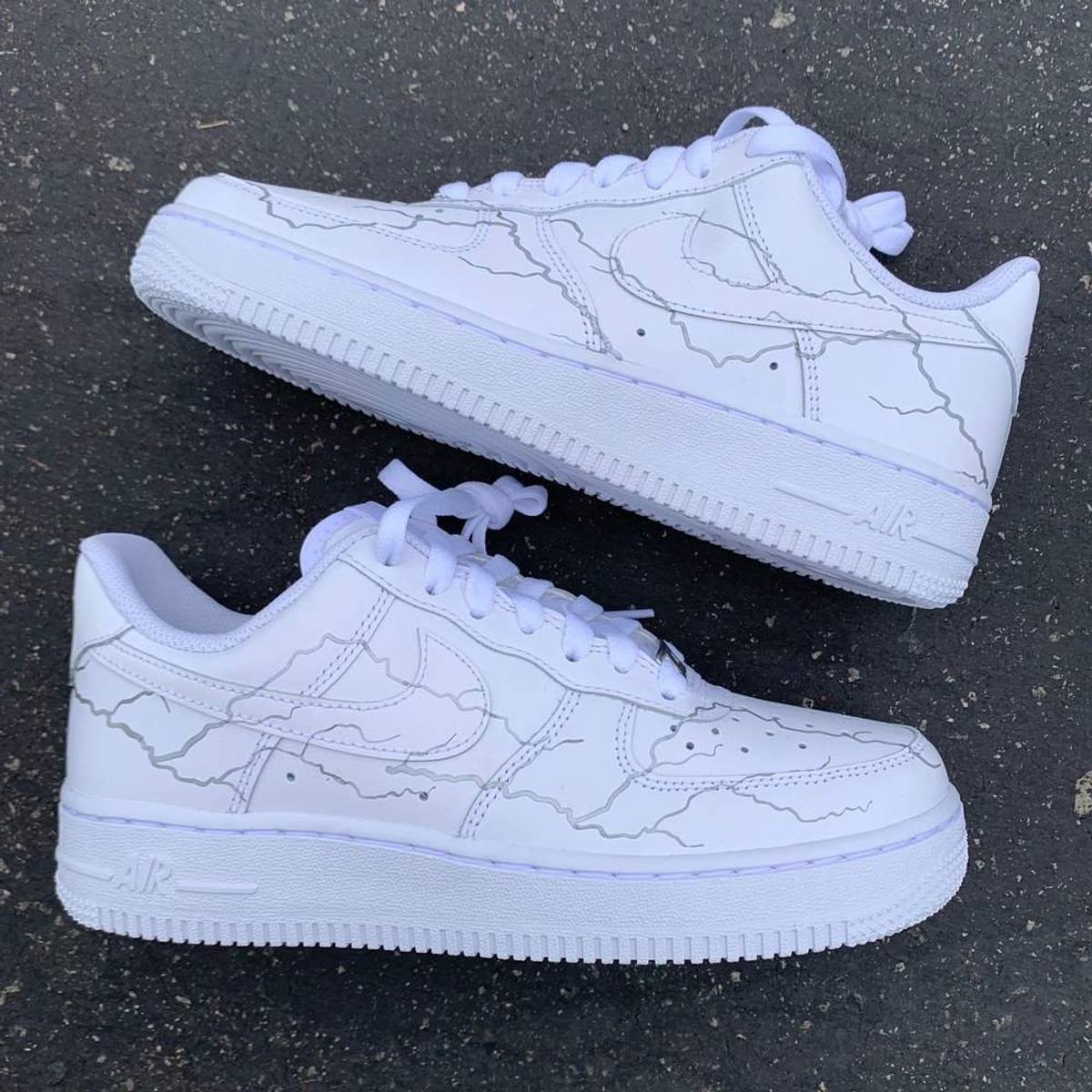 air force 1 lightning