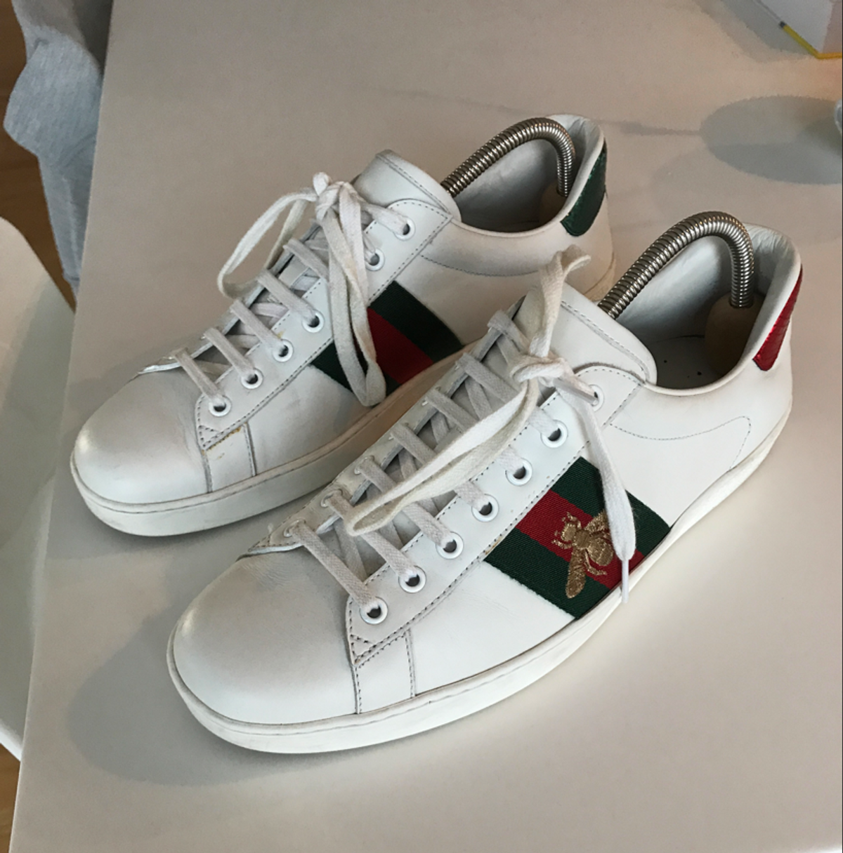 gucci gucci bee ace shoes grailed