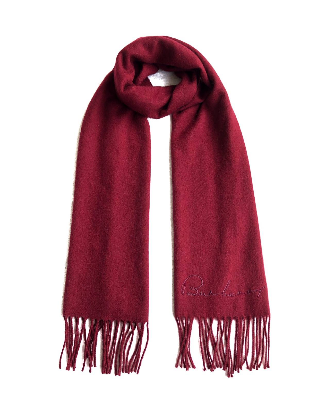 Burberry Burberry Plain Cashmere Scarves Muffler Grailed
