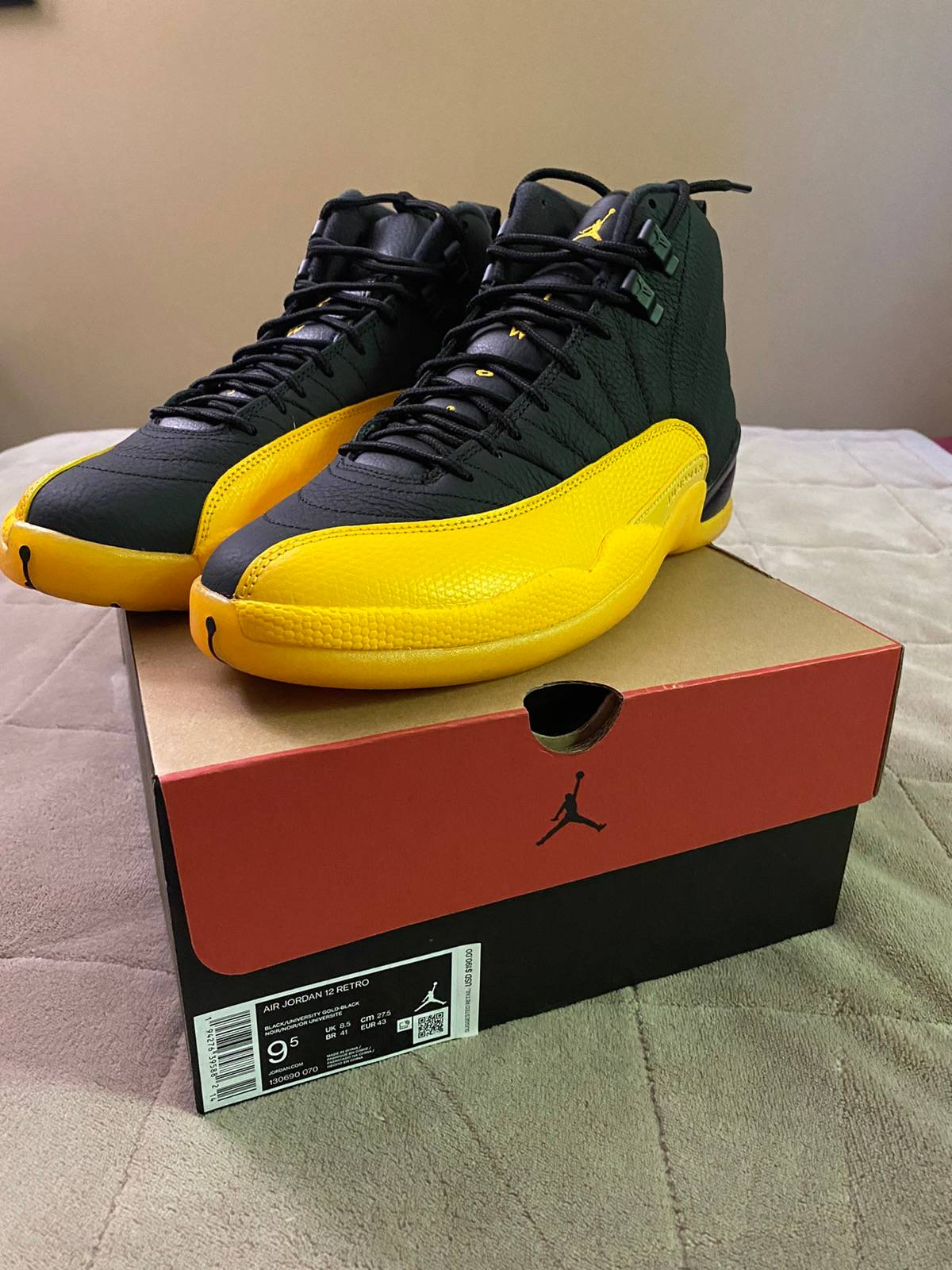 Nike Air Jordan 12 University Gold Grailed