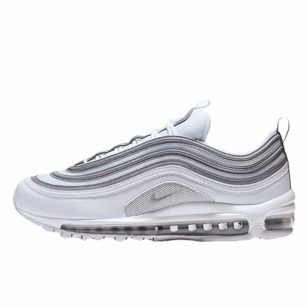 Nike 2019 Nike Air Max 97 White Reflective Silver Wolf Grey
