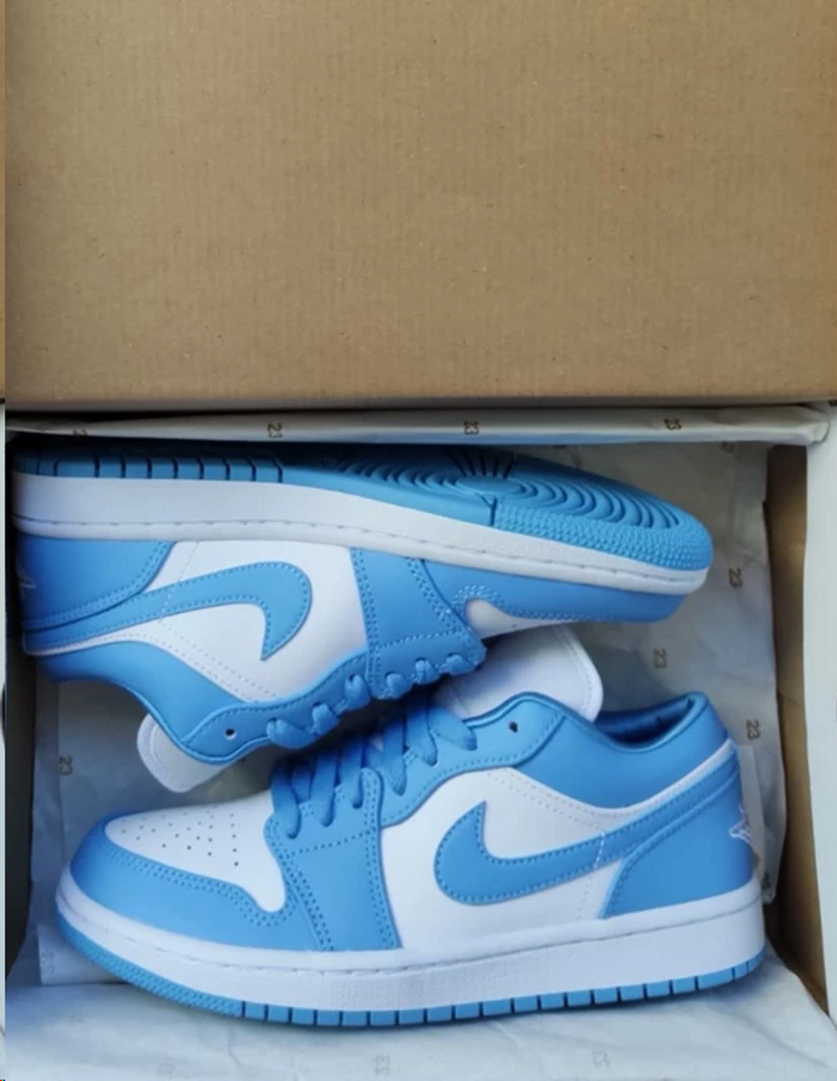 Nike Air Jordan 1 Low Unc Grailed