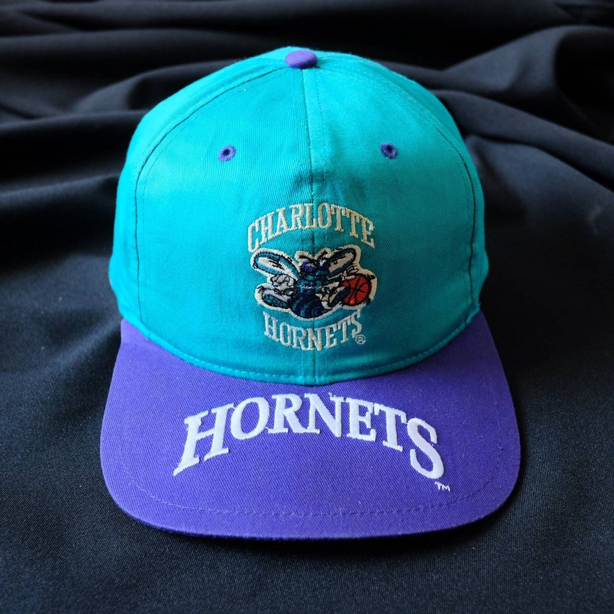Twins 90s Charlotte Hornets Snapback Nba Hat Cap One Size Grailed