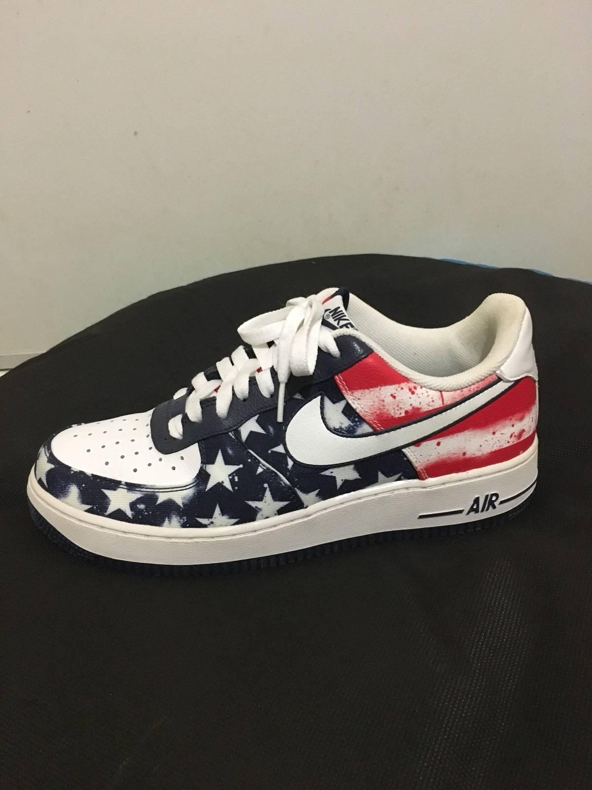 Nike Nike Air Force 1 American Flag | Grailed