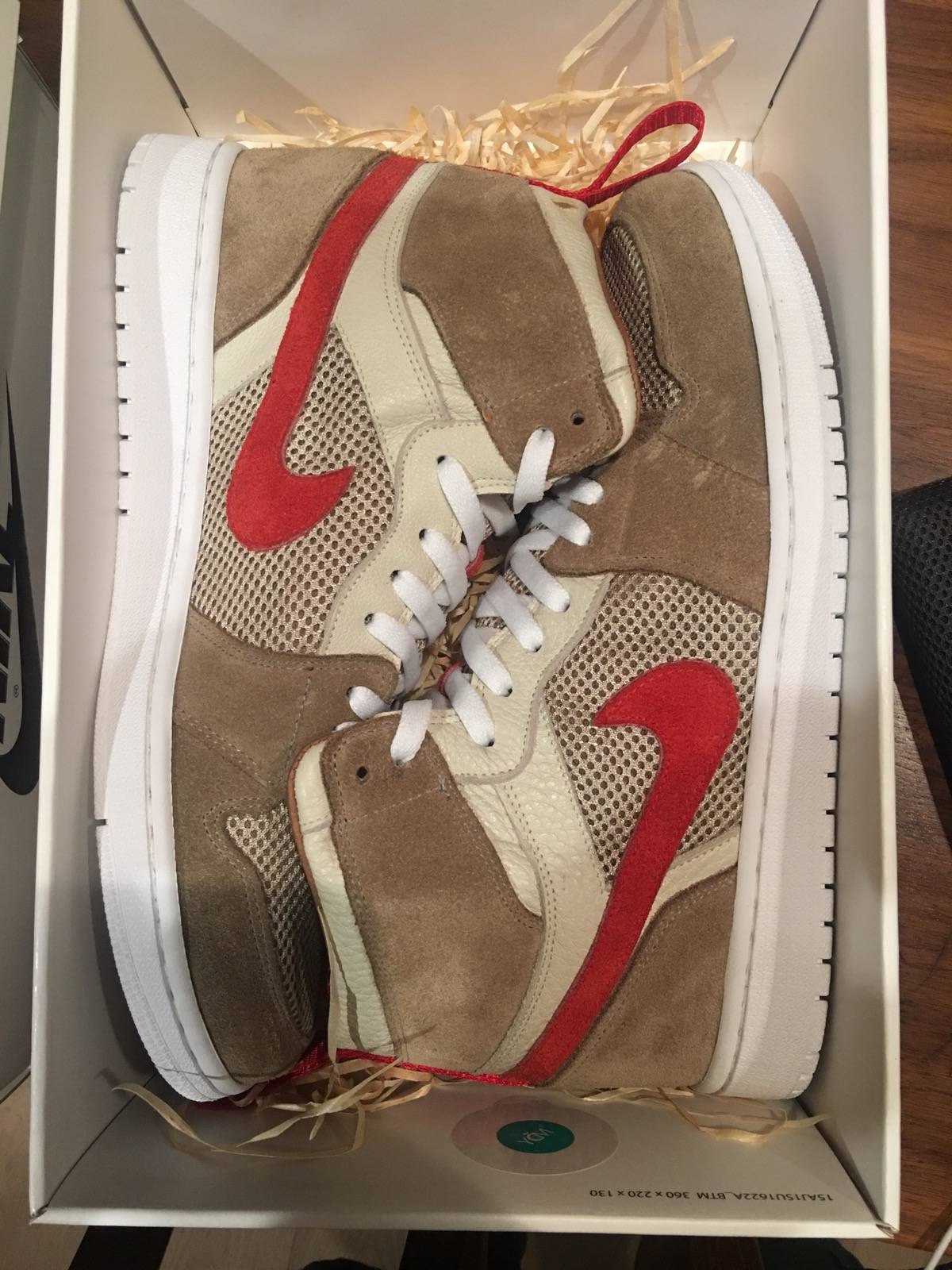 transmisión represa Año  Jordan Brand Tom Sachs Nike Air Jordan 1 Custom By Chase Shiel | Grailed