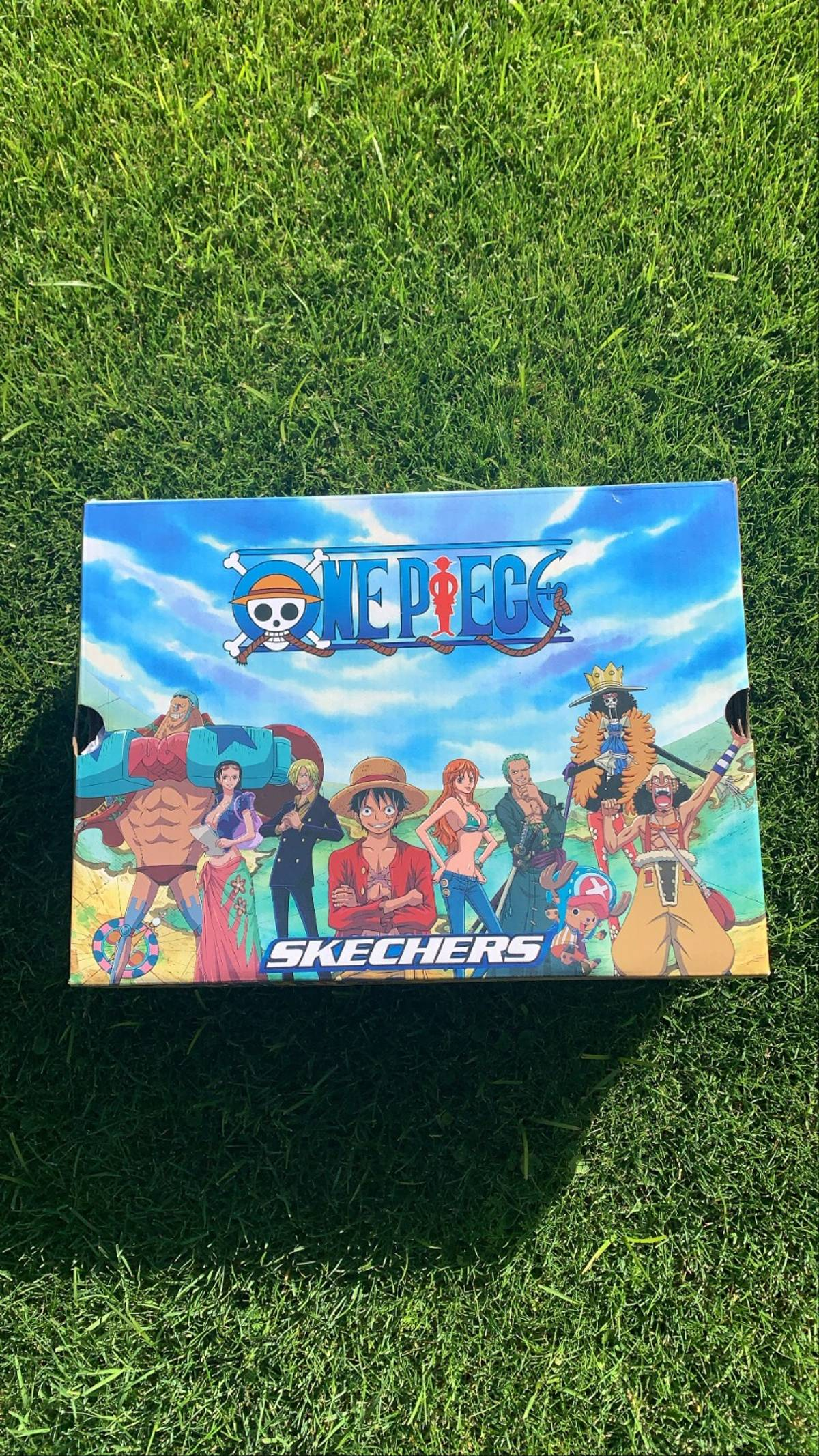 Vintage Deadstock One Piece X Skechers Sanji Edition Grailed