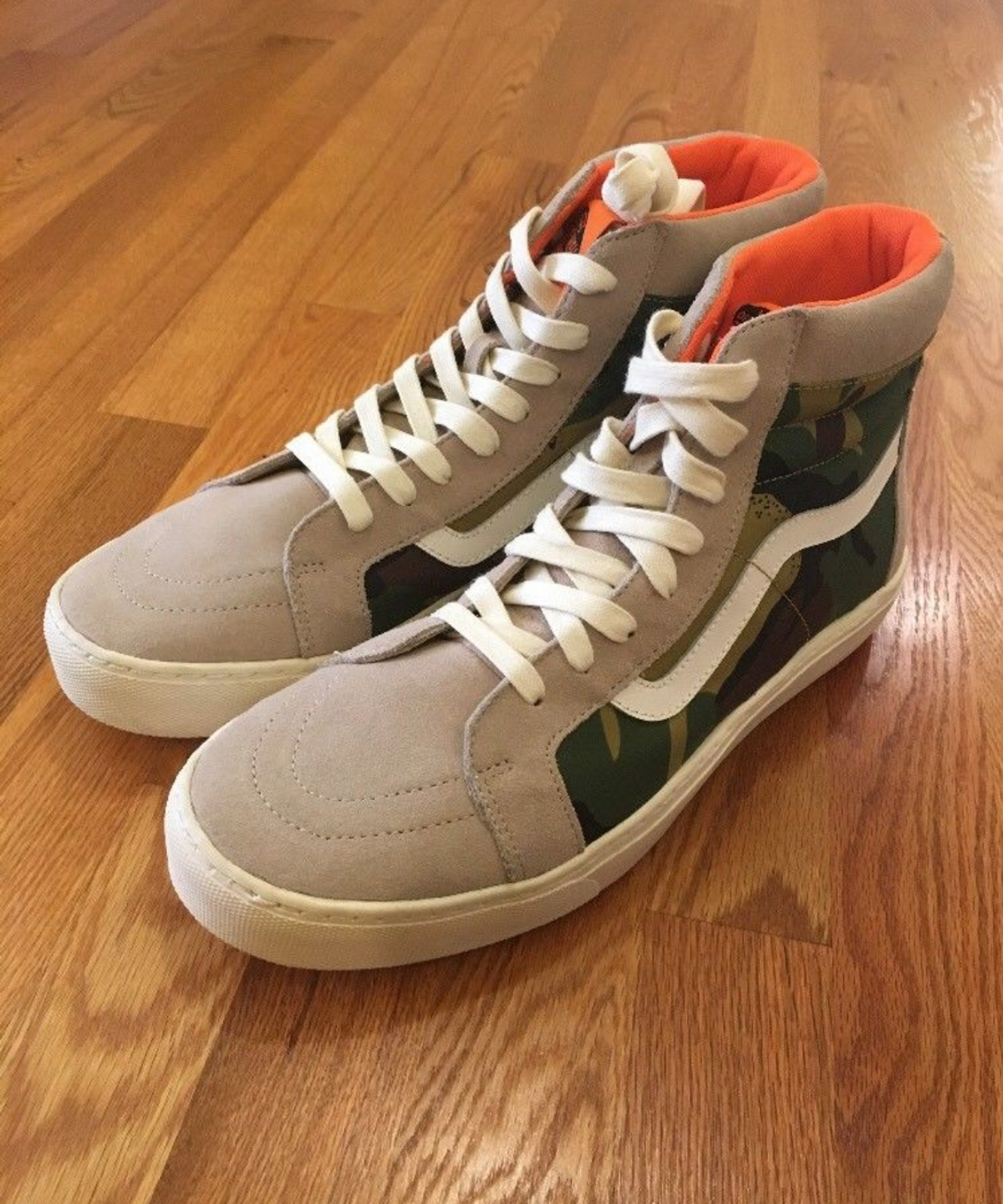 vans 1 1 vans vault rare sample pair london undercover sk8 hi mte camo us mens 11 grailed vans 1 1 vans vault rare sample pair london undercover sk8 hi mte camo us mens 11 size 11 315