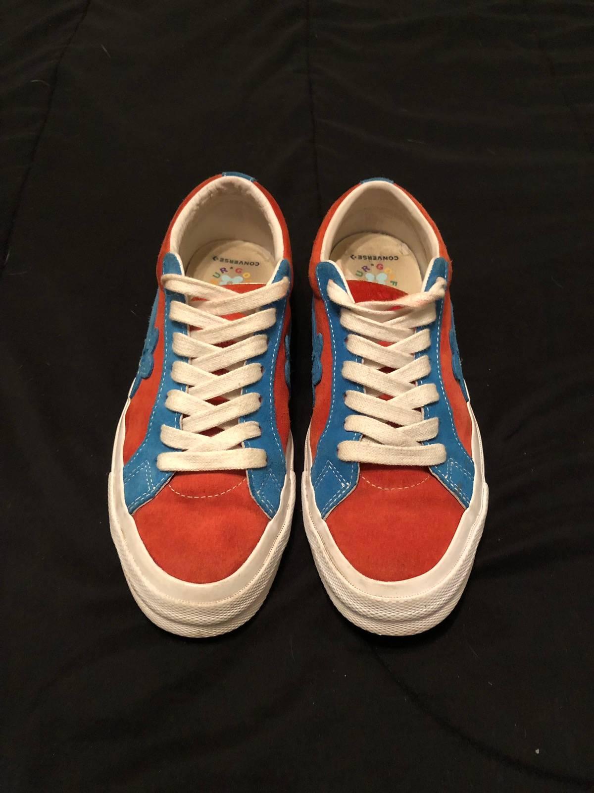 Converse Golf Le Fleur Red Blue Size 8 Fits 8 5 9 Grailed