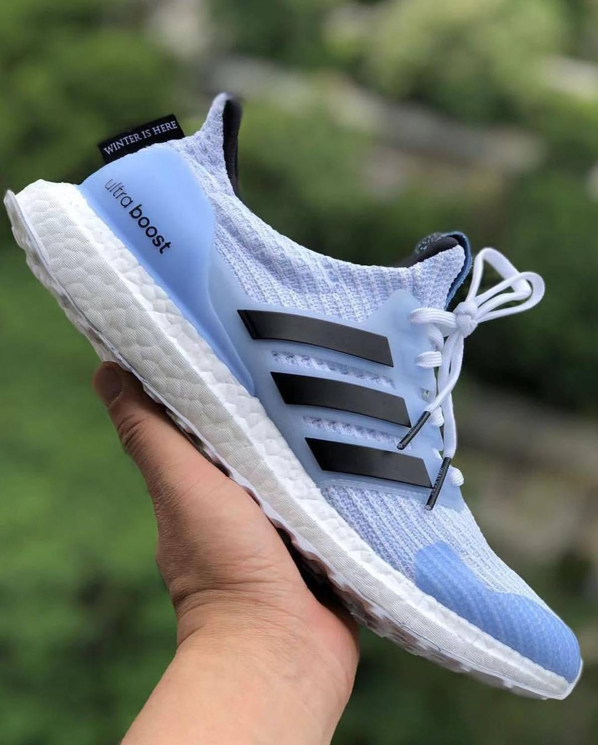 Adidas Game Of Thrones X Ultra Boost 4.0 White Walkers Size 11 $283
