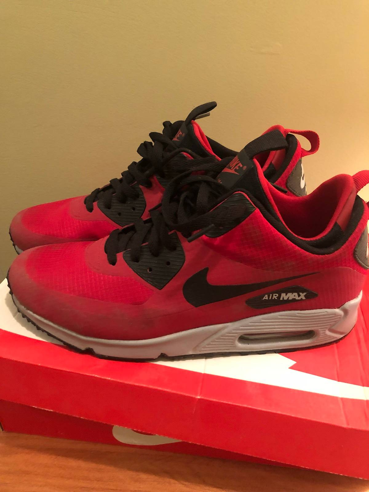 Shoes NIKE Air Max 90 Ultra Mid Winter 924458 002 Black