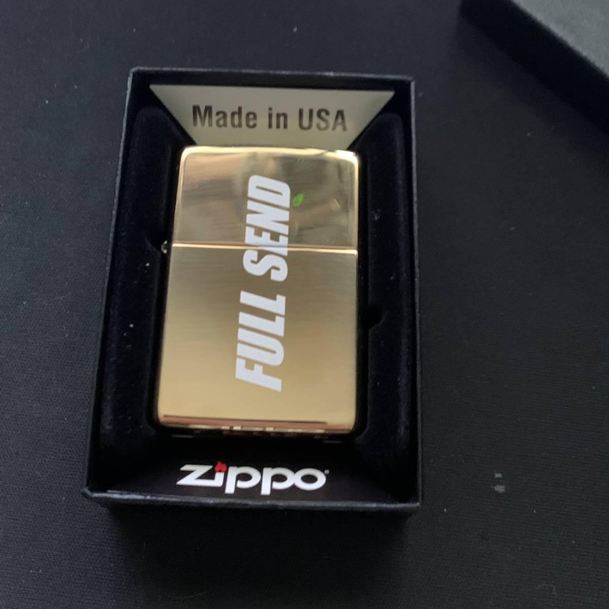 Full Send By Nelk Boys Full Send Gold Zippo Lighter 836 1000 Grailed Steve will do it nbanger. grailed