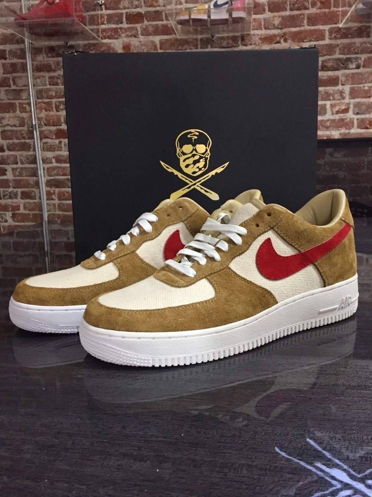 visual Polar Posicionamiento en buscadores  Nike The Shoe Surgeon Tom Sachs Mars Yard Air Force One Lows | Grailed