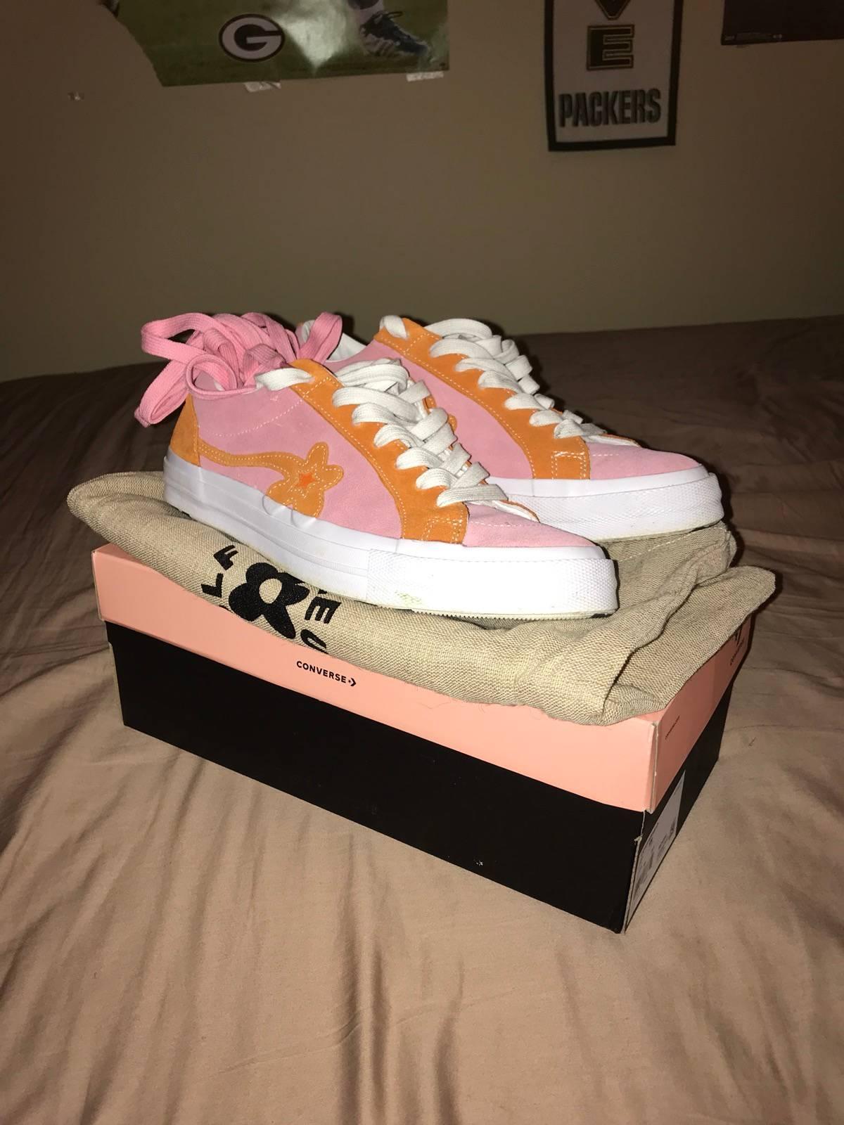 Converse Converse Golf Le Fleur Pink Orange Shoes Grailed