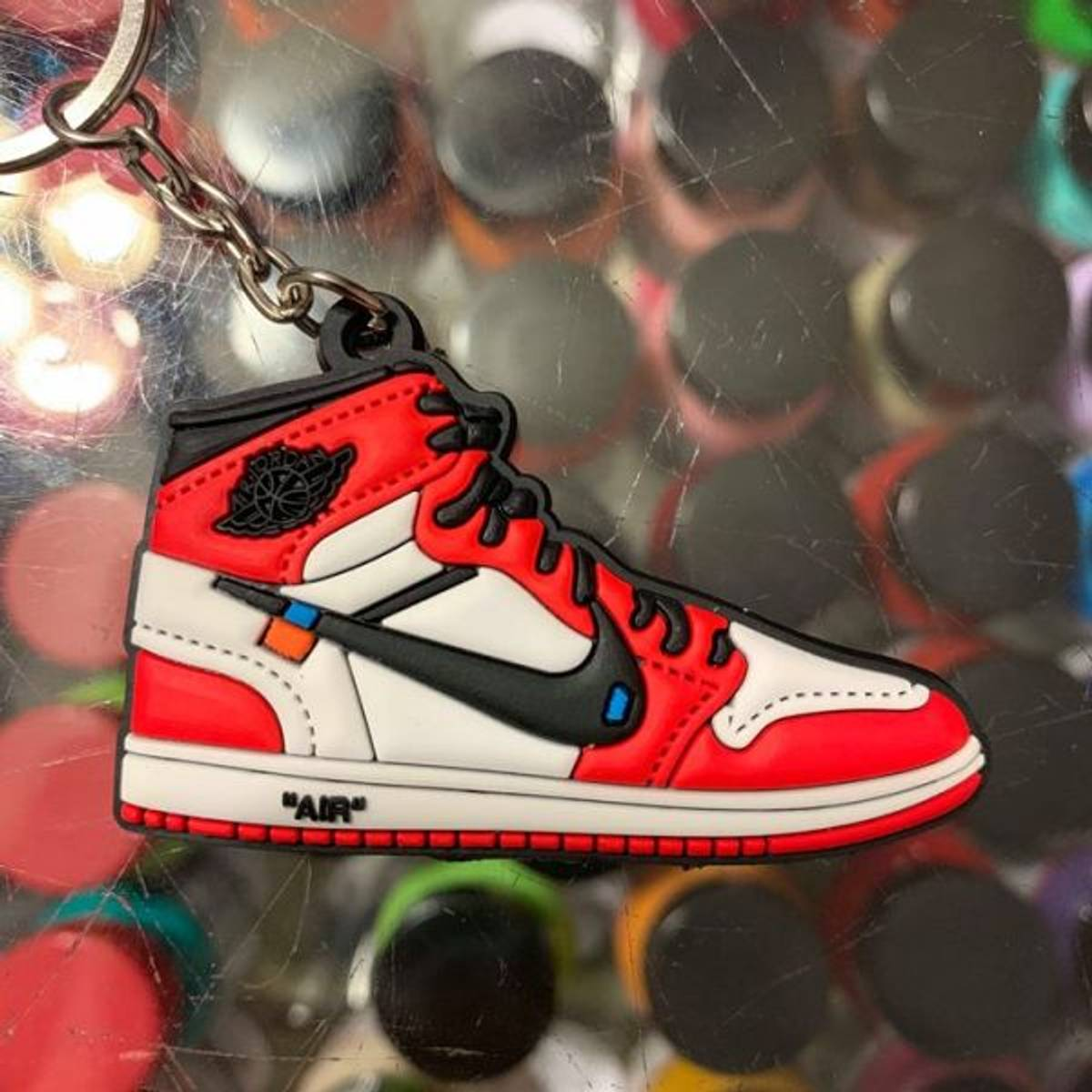 Rubber Keychain 2018 Nike The 10 Off White Air Force 1 High