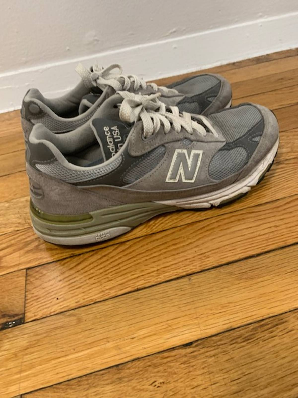 New Balance 991 Made In Usa Grailed