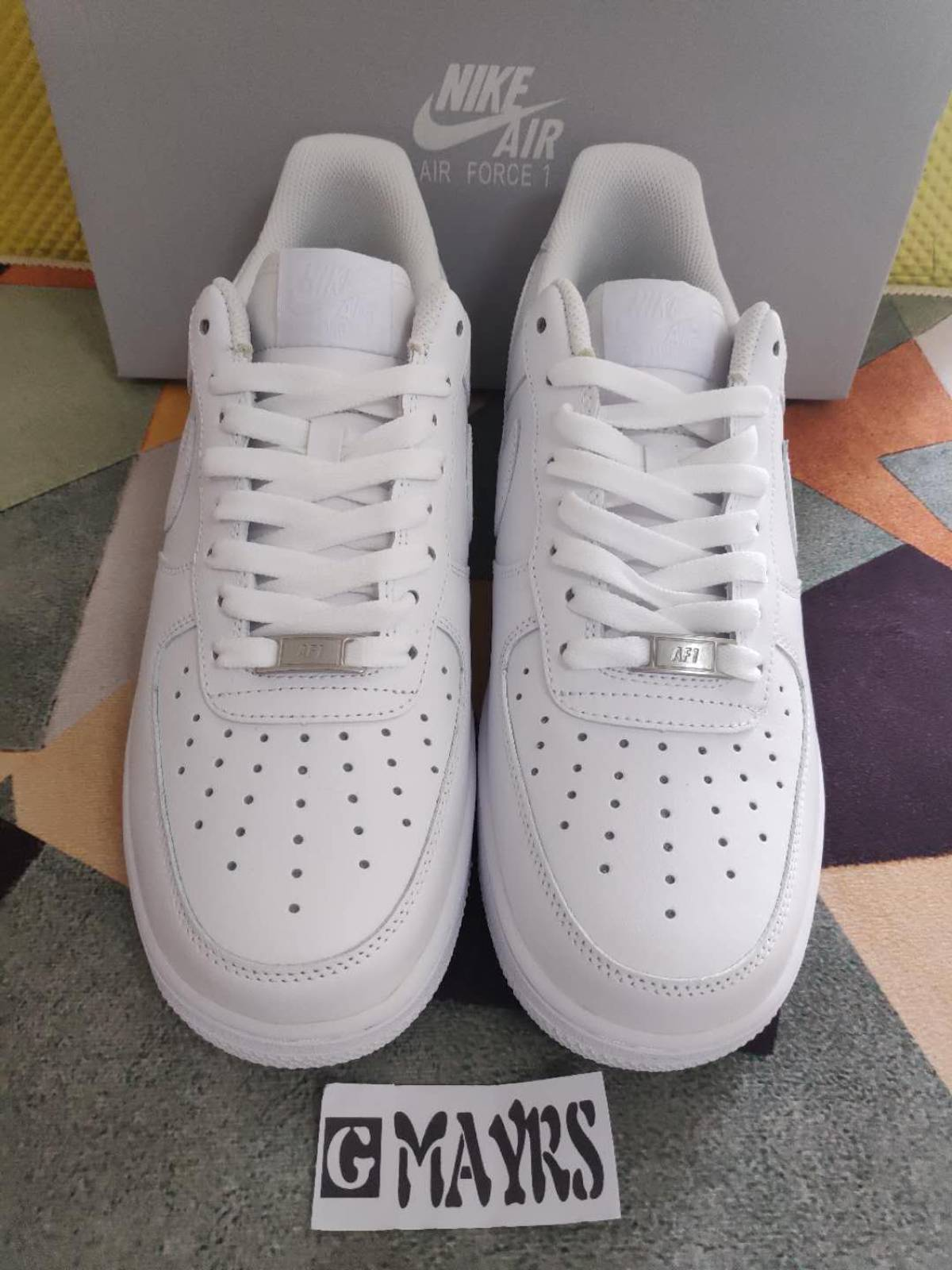 Nike Men's Air Force 1 Low 07 White Size 10.5 Size 10.5 $80