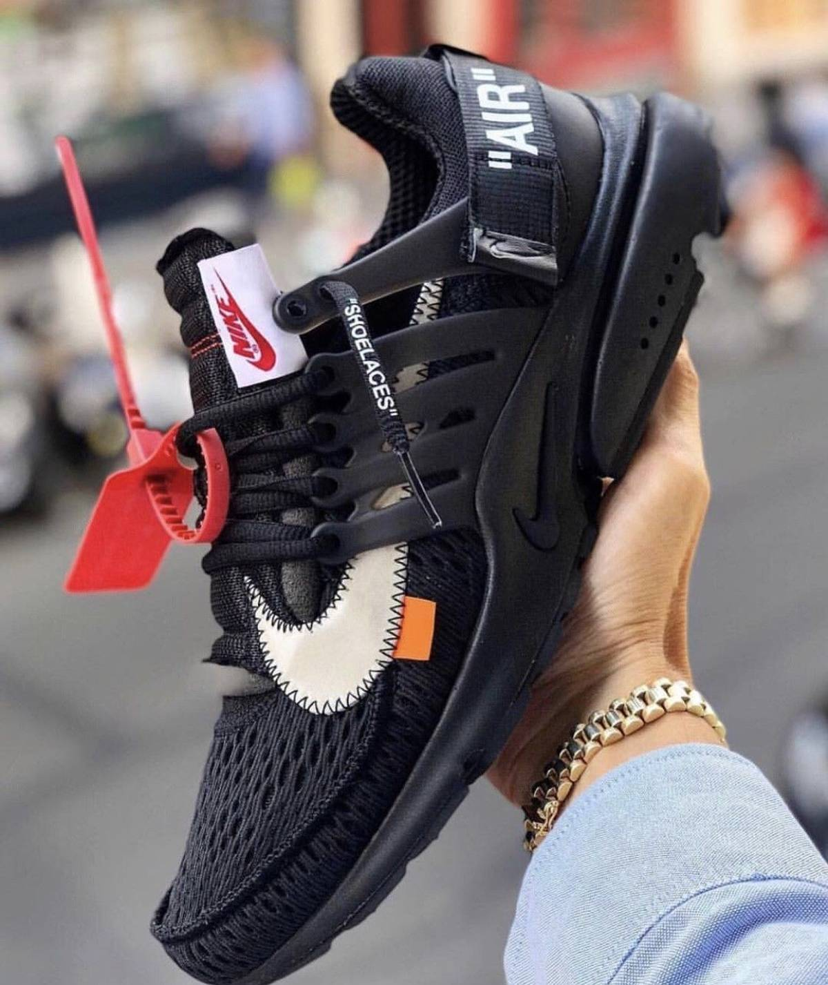 audiencia alegría Gracia  Nike Nike Off White Presto Black 2018 | Grailed