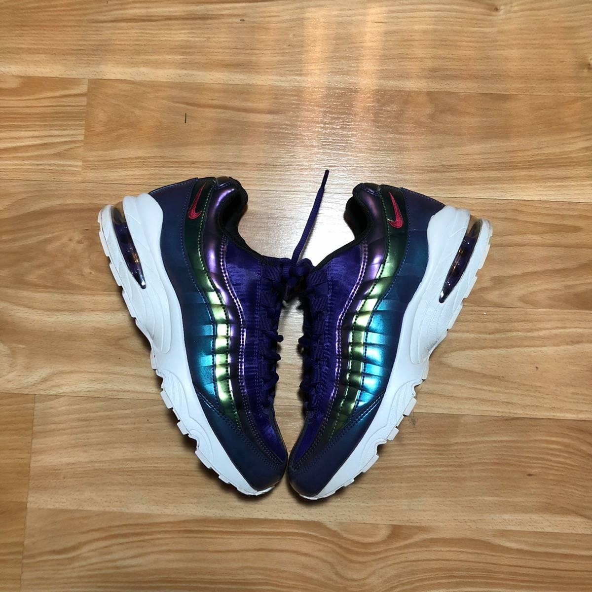 Nike Air Max 95 Women Children Sneakers Purple Size 6.5Y