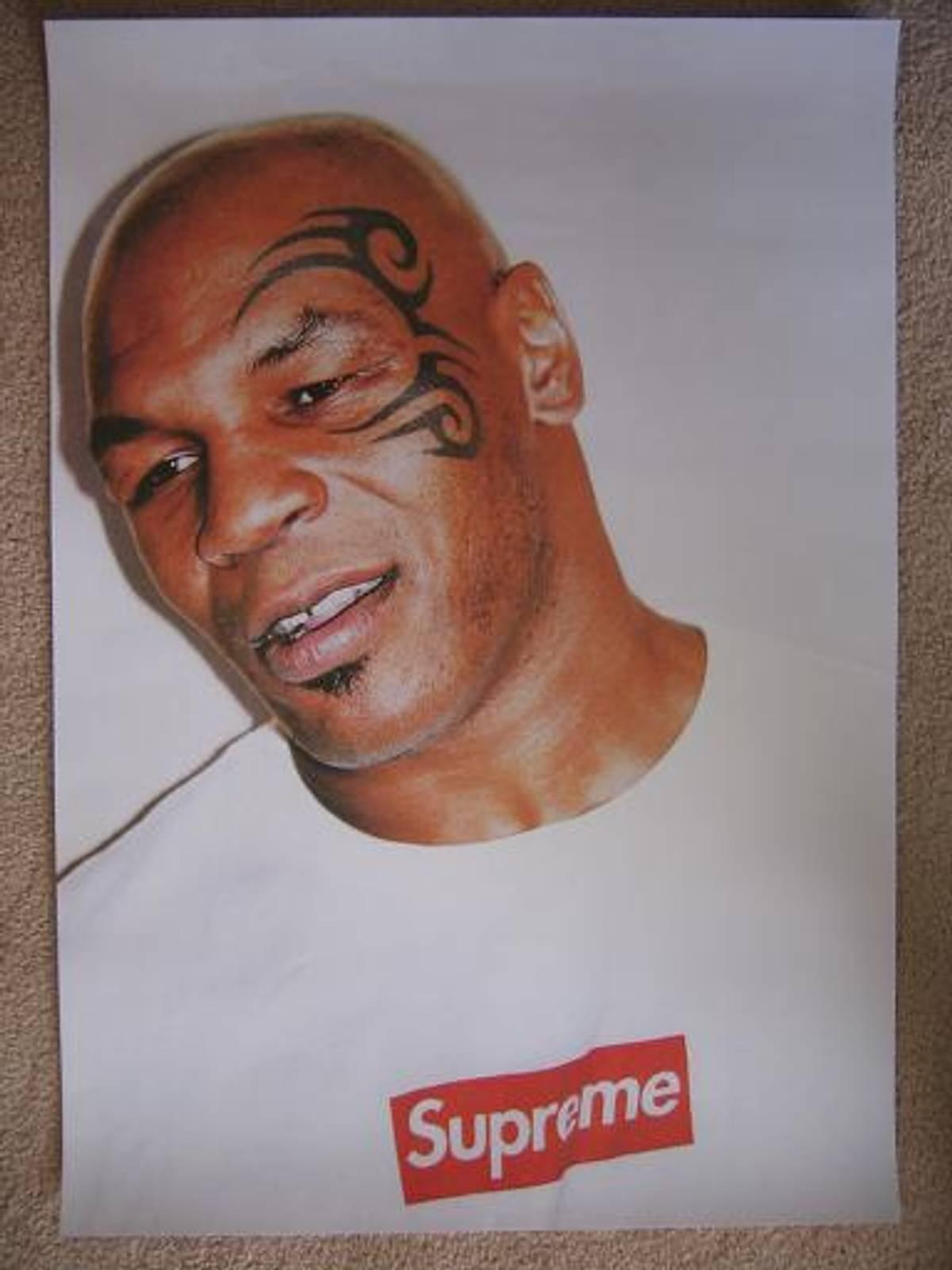 Supreme Mike Tyson Supreme Poster Grailed