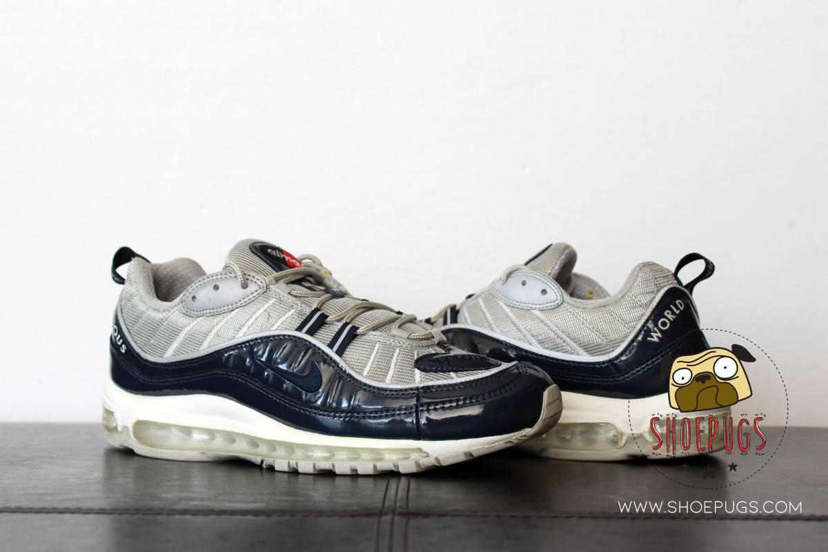 Nike 2016 Nike Air Max 98 Supreme Obsidian Grailed