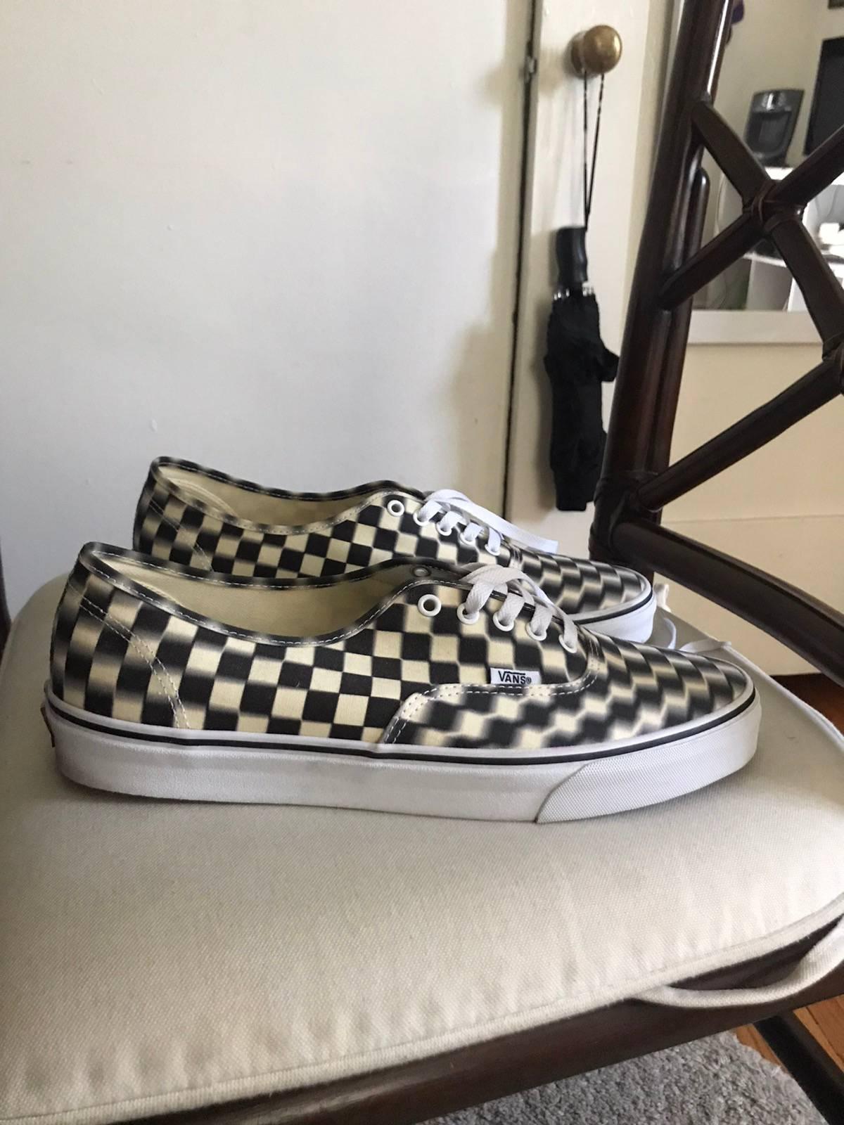Vans Vans Authentic Blur Checkered Size 13 $40