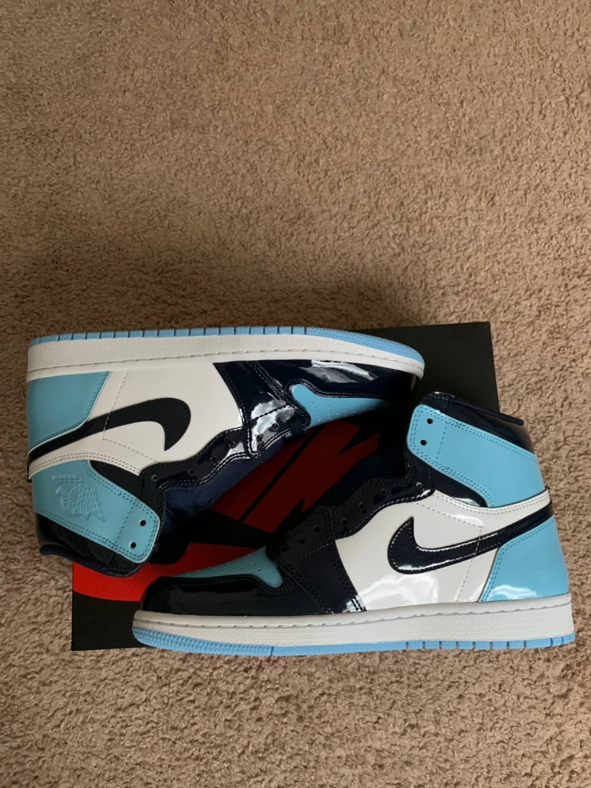 Nike Blue Chill Air Jordan 1 Wmns 9 Men S 7 5 Grailed