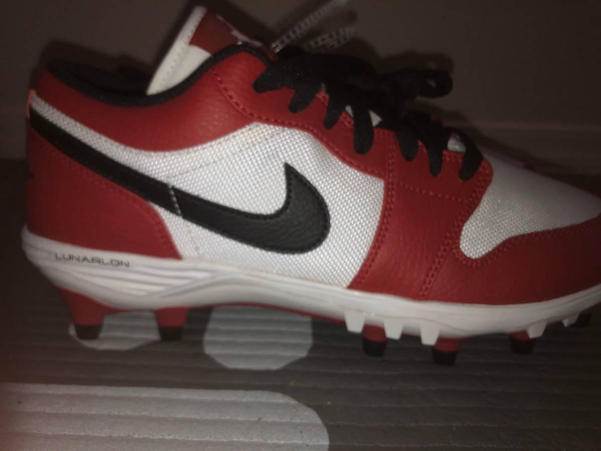 Nike Nike Air Jordan Low Chicago Football Cleats Av5292 106 8 5 Grailed