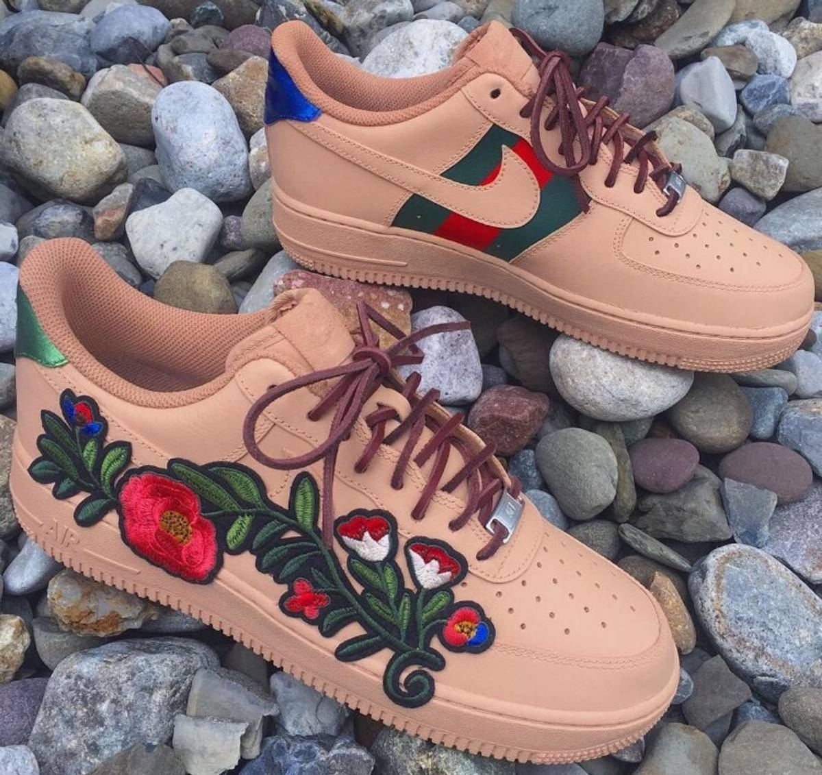 Nike Air Force 1 Gucci Custom Grailed