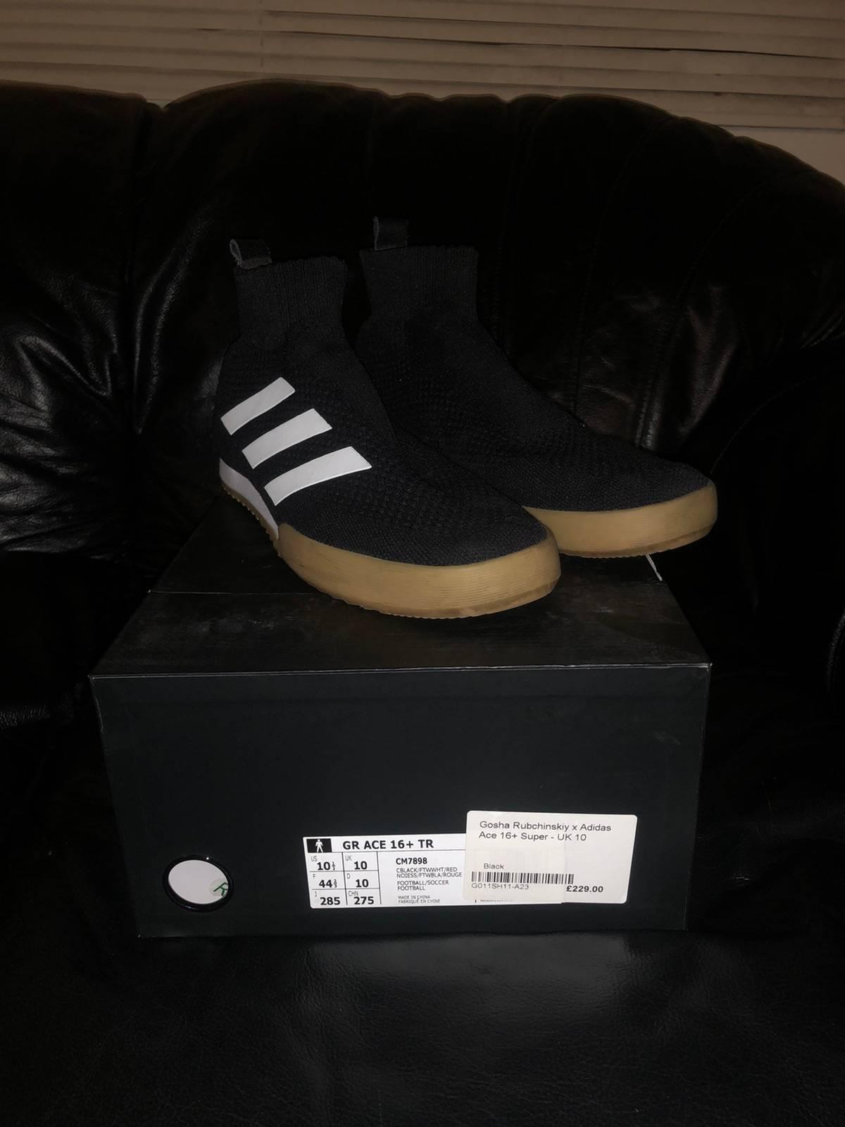 Adidas × Gosha Rubchinskiy Gosha Rubchinskiy X Ace 16+ Tr Black | White Size 10.5 $196