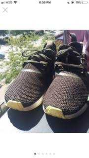 new product ace3b 49b31 Adidas Olive Green Nmds Size 10 - Low-Top Sneakers for Sale ...