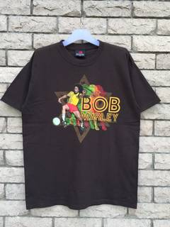 Band T Shirt Bob Marley Spellout Big Design