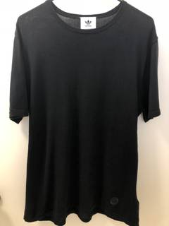 0728887ee0162 Adidas × Wings + Horns Black Cotton Knit T-Shit