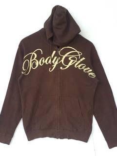 RARE!!! Body Glove California Big Logo Blue Colour Crew Neck Sweatshirts Jumper Pullover XL Fit M Size
