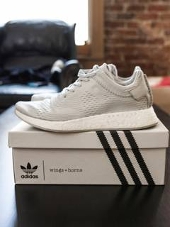 bacca50873bf2 Adidas wings+horns NMD R2 in Hint Primeknit 11.5
