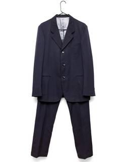 7581dcf8400e Comme Des Garcons Homme Plus × Comme des Garcons Dark Navy Wool Suit Set