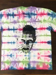 5a7f12faa55e Supreme Supreme hellraiser tie dye tee shirt