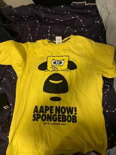 17364377f6f4 Aape Spongebob Aape T-shirt
