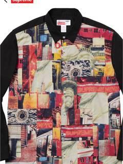 4b70ee5b6565 Supreme Cdg X Supreme Eyes Shirt   Grailed