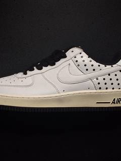 promo code 0048f d5f21 Nike ⚡️Nike Air Force 1 Low POLKA DOTS WHITE BLACK HTM