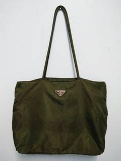 7bd889995754dd Italian × Italian Designers × Prada Rare Authentic Prada Shoulder/Tote Bag