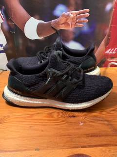 74550535217 Adidas Adidas Ultra Boost Black White Size 8.5