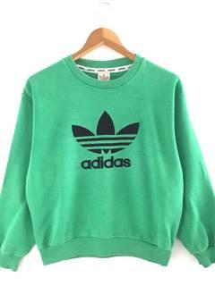 40c6c687bf25 Vintage adidas sweatshirt green